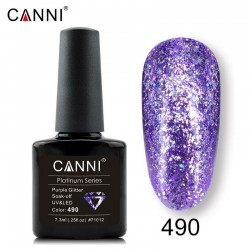 Canni Platinum 490 Purple Glitter