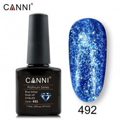 Canni Platinum 492 Blue Glitter